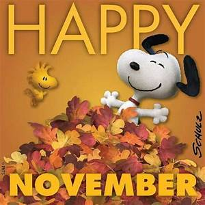 November snoopy